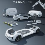 Tesla Pod Modular Autonomous Electric Platform for Private, Public, or Commercial Cabin