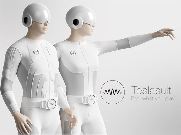 Teslasuit full body haptic suit allows you to feel and for Virtual suit builder