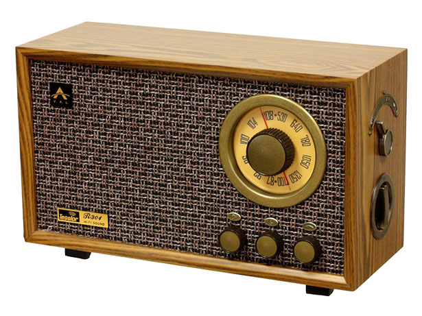Tesslor R301 Retro-style Tabletop AM/FM Hi-Fi Radio