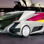 Futuristic TET City Car by Chao Gao