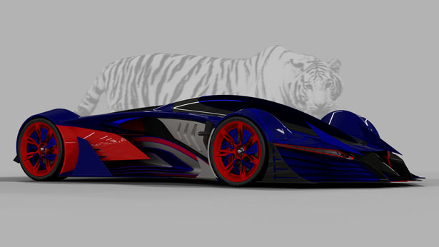 TGR Concept Car Design Proposal for KVN by Nathapol Wanathong