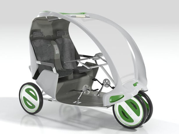The Antidote Cycle-Rickshaw for Elderly People