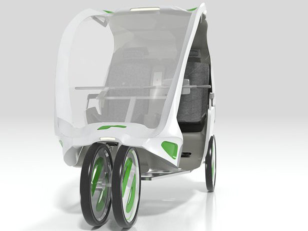 The Antidote Rickshaw for Elderly People