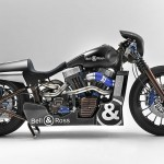 Shaw Harley-Davidson and Bell & Ross Teamed Up To Develop the Bell & Ross-inspired Nascafe Racer