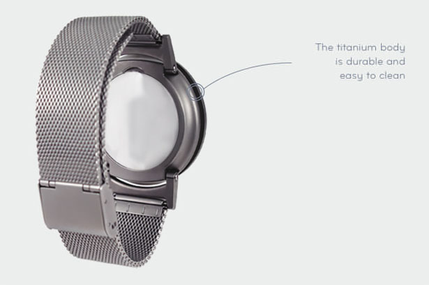 The Bradley Tactile Watch for Visually Impaired People