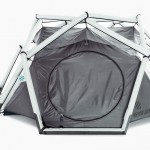 The Cave Tent Features Unique And Lucrative Molecular Diamond Structure