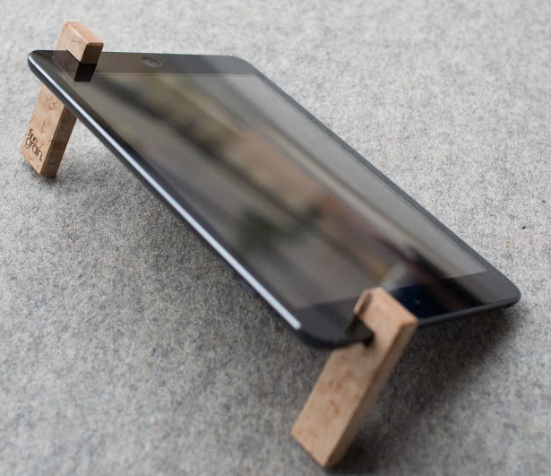 The Coburns iPad Stands by FineGrain