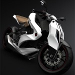 The Compact And Lightweight 2012 Izh-1 Motorcycle Can Give Ultimate Futuristic Commuting