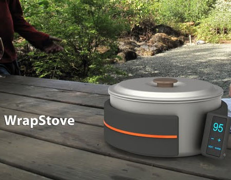 The Compact and Lightweight WrapStove Can Give Great Cooking Convenience to The Campers