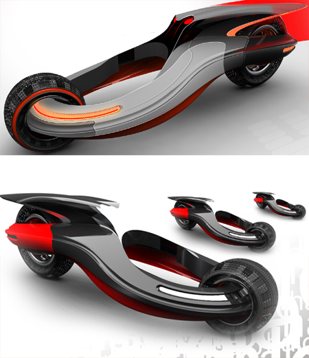 the concept vehicle