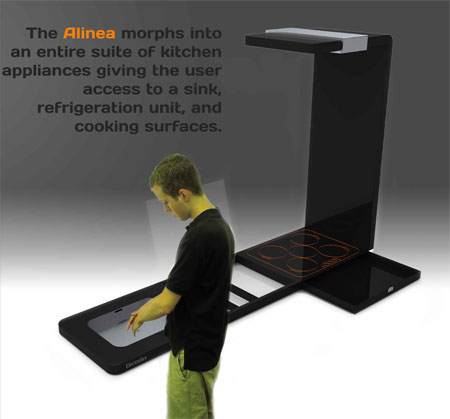 the electrolux alinea