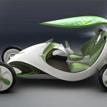The Energy-Efficient Leaf Car Produces Oxygen To Keep The Environment Green