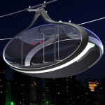 The Futuristic Urban Gondolas Is An Efficient, Fast, And Safe Public Transit