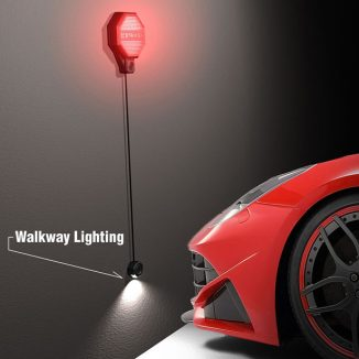 The Garage Stoplight Is a Practical Garage Parking Aid