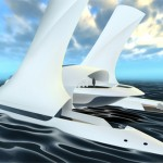 The Giant 3 Tier Futuristic Enso Yacht