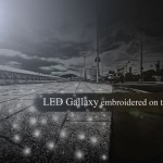 The Innovative Led Galaxy Streetlamp Can Generate A Galaxy Of Stars On The Ground