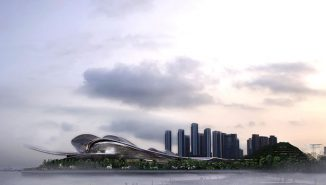 """""""Light of the Sea"""" Opera House for Shenzhen"""