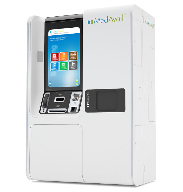 The MedAvail MedCenter Pharmacy Kiosk by Squint Innovation & Branding Inc.
