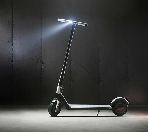 The Model One Electric Scooter by Unagi Scooters