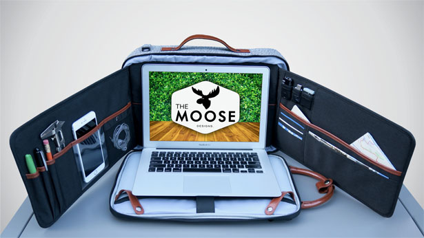 The Moose Workstation Backpack