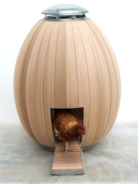The Nogg : Modern Hand Crafted Chicken Coop