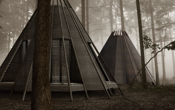 The Nook Cabin by Anthony Gibbon Designs