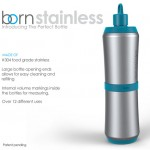 The Perfect Bottle : Modular Stainless Steel Bottle by Brianna Coffey