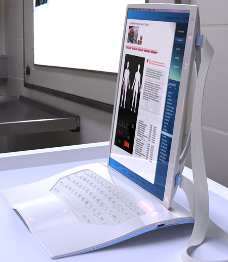 The Portable Toshiba Rx Tablet PC A Complete Hospital Solution