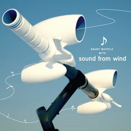 the sound from the wind