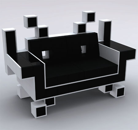 Charmant Space Invader Couch