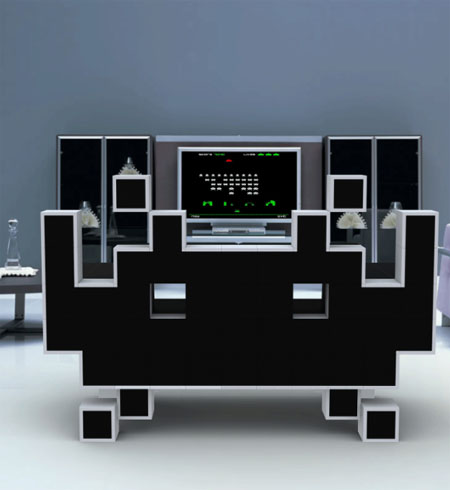 The Space Invader Couch Can Provide Comfortable Seating With Unique Appearance