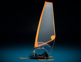 Swoosh Snow Sailer – Will This Be The Next Big Thing In Winter Sports?
