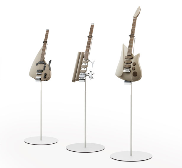 The Triplet Guitar by Ulrich Teuffel