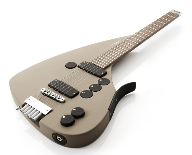 Limited Edition The Triplet Series : Unique and Innovative Guitar Design by Ulrich Teuffel