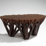 The Unique And Stylish Fractal.MGX Coffee Table Creates A Bond Between Users And Nature