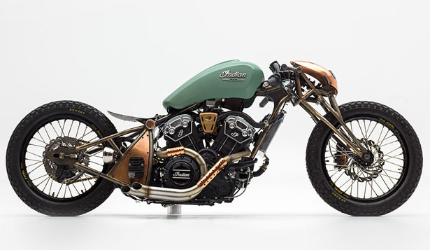 Alfredo Juarez - The Wrench Scout Bobber Build-Off Competition Winner