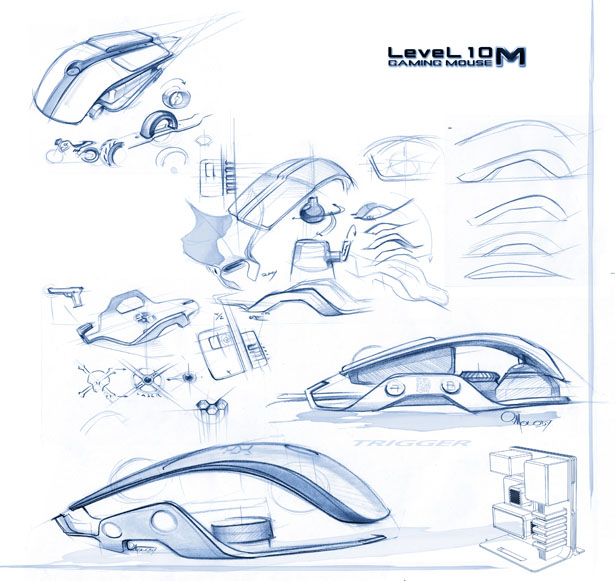 Thermaltake Level 10 M Mouse by BMW Group DesignworksUSA