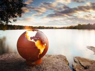 Set The World on Fire with Third Rock Fire Pit!