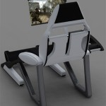 Thrones : Computer Recliner Concept by Anthony Sanchez