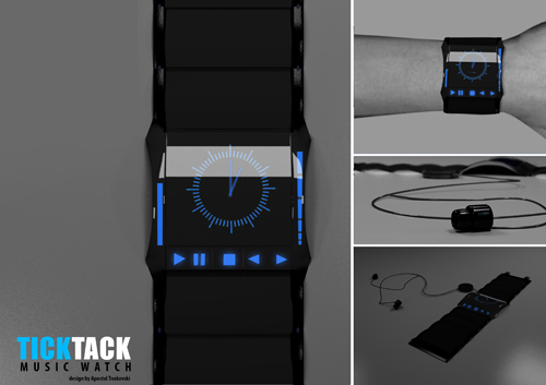 TickTack Music Watch by Apostol Tnokovski