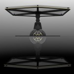 Tie Fighter Table Is Inspired by Galactic Empire Game