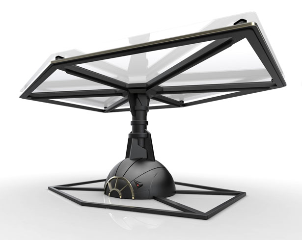 Tie Fighter Table by Igor Chak