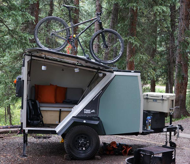 Sealander Amphibious Camping Trailer: TigerMoth Camper Trailer : Compact And Robust Trailer For