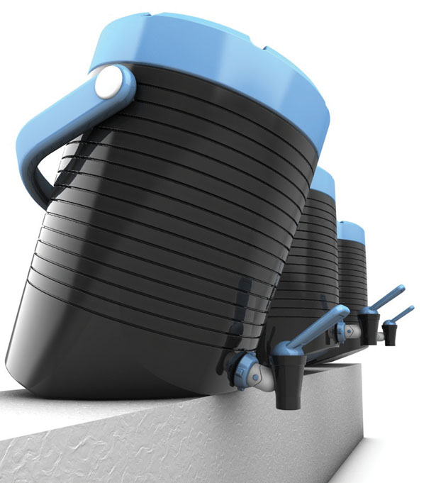 Tilt 20 Dispenser Concept by Hsieh Hung-Chung and Lin Kai-Ting