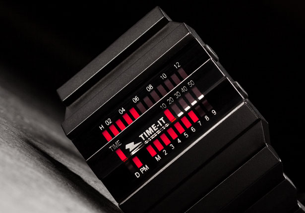 TIME-IT T-Block Watch by Ramon Groen and Michaël Mourgue