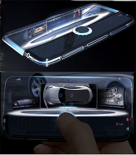The Winners Of 3rd Annual Design The Future Competition By LG Mobile Phone