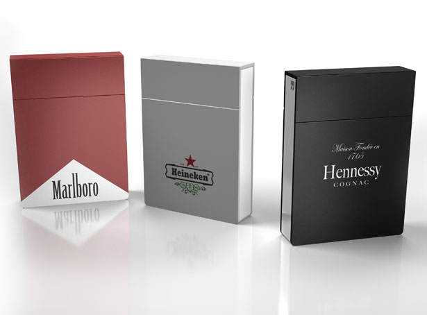 Timeless Cigarette Package