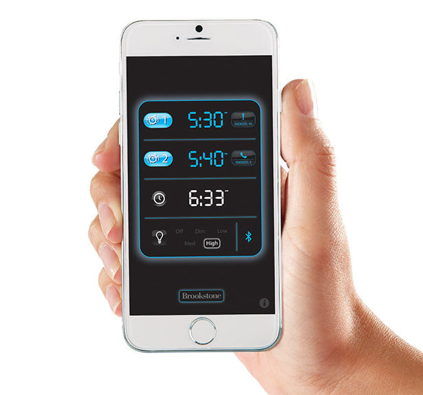 TimeSmart App-Controlled Alarm Clock by Elliot Cohen