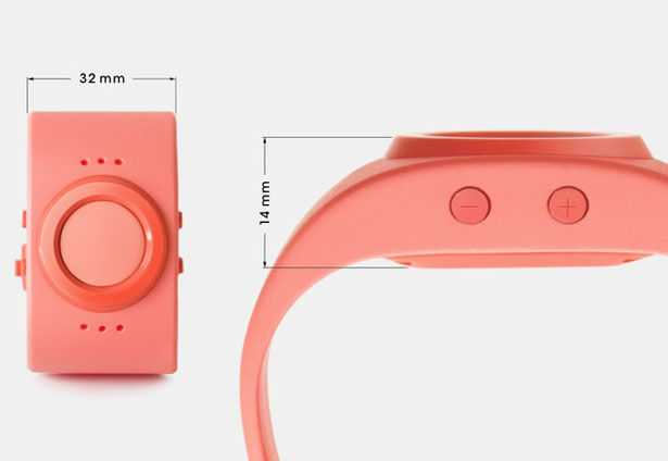 Tinitell Wearable Mobile Phone for Kids by Mats Horn