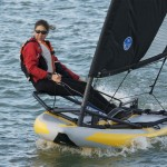 Tiwal 3.2 High Performance Inflatable Sailing Dinghy for Water Sports